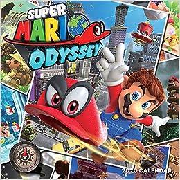 Super Mario Odyssey 2020 Wall Calendar: Nintendo