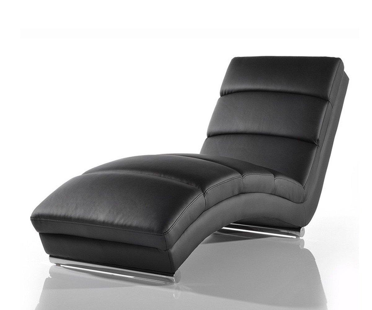 AC Design Furniture Chaiselongue Schwarz Mit Verchromten Gestell Senta:  Amazon.de: Küche U0026 Haushalt
