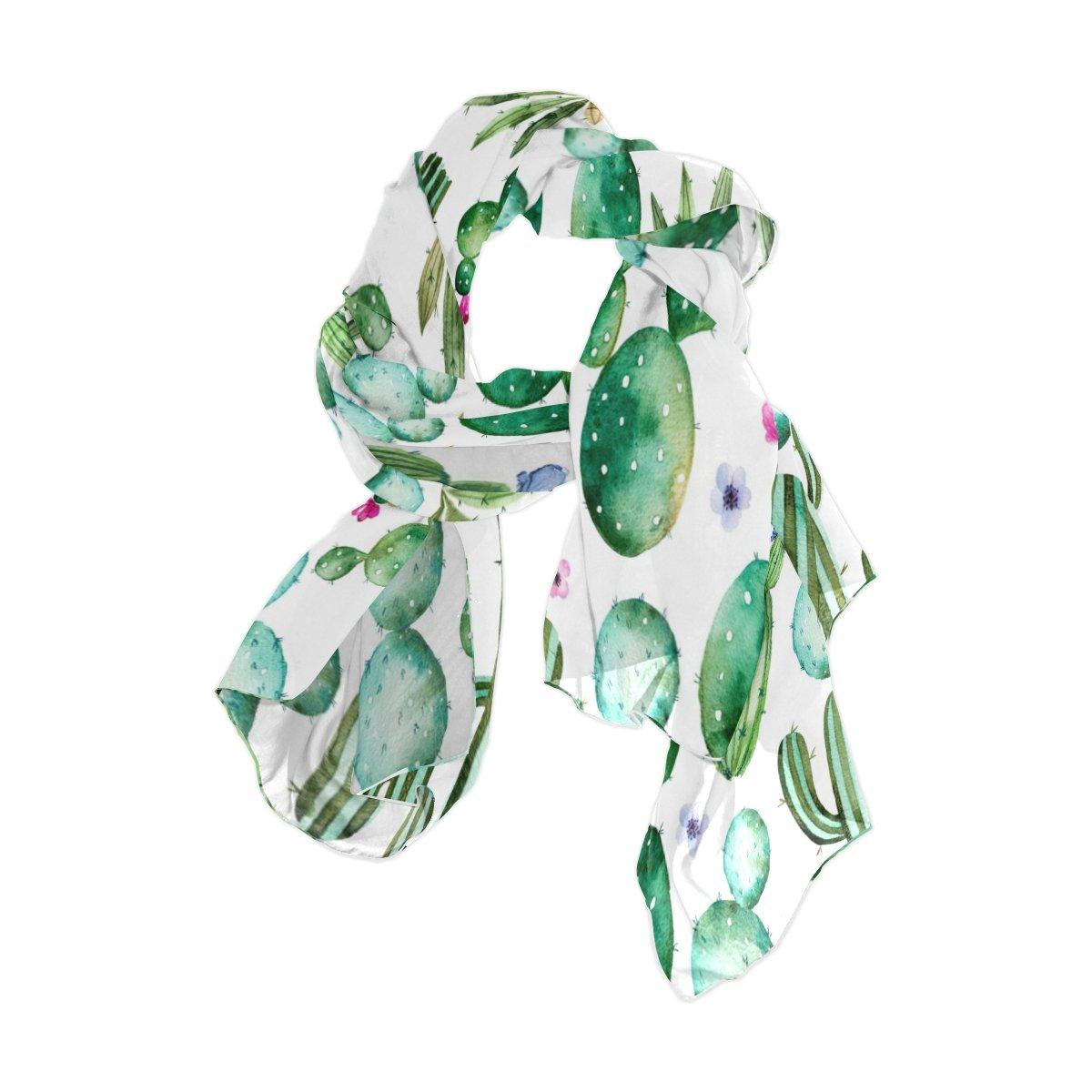 Use4 Fashion Lightweight Chiffon Silk Long Scarf Shawl Wrap g4832390p110c124s164