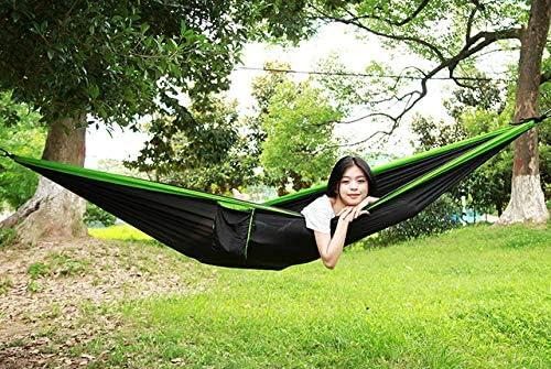 HUANGZHENYIN Hamaca para Dormir 2-3 Personas Hamak Jardín Swing Silla Colgante Cama Al Aire Libre Hamacas Artículos De Camping C G: Amazon.es: Jardín