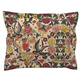 Roostery Tattoo Steampunk Gothic Vintage Romantic Valentine Pillow Sham