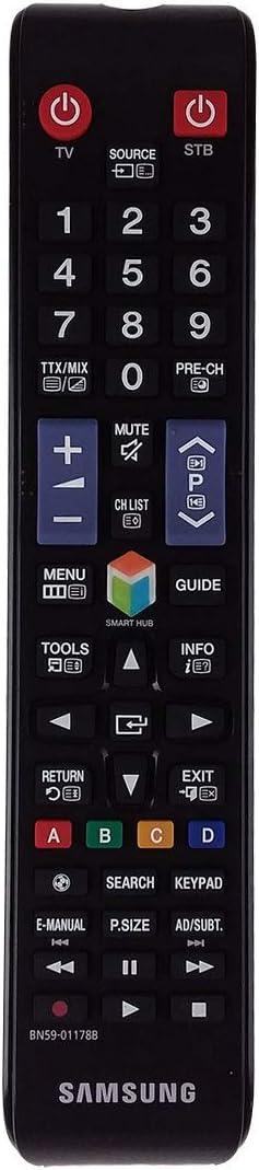 Samsung BN59-01178B - Mando a Distancia de Repuesto para TV, Color Negro: Amazon.es: Electrónica