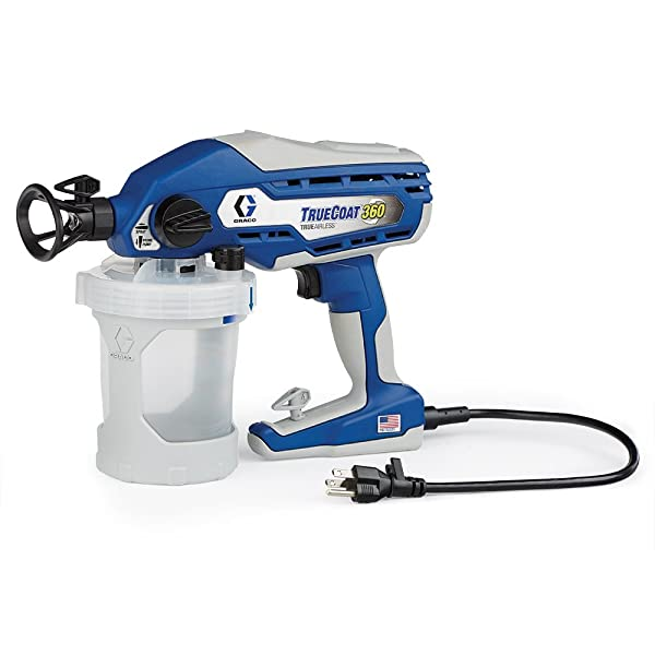 Best Handheld Aireless Paint Sprayer For Home: Graco TrueCoat 360