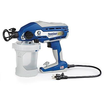 amazon com graco 16y385 truecoat 360 paint sprayer home improvement