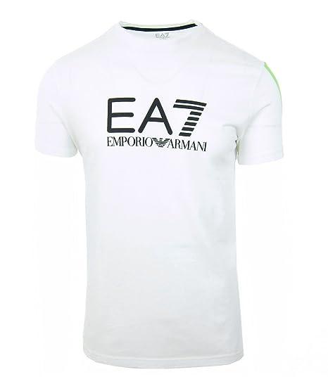 Shirt Blanc Ea7 Emporio Armani Tee 5p237 Xl 273812 BQrdCxoWe
