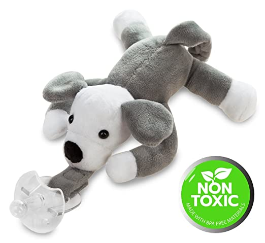 Amazon.com: Animal Infantil Chupete Chupete – fabricado con ...