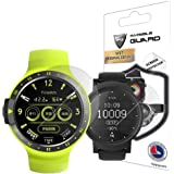 For Ticwatch S & E Smartwatch Screen Protector (2 Units) Invisible Ultra HD Clear Film Anti Scratch Skin Guard - Smooth / Self-Healing / Bubble -Free By IPG
