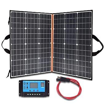 chargeur solaire portable randonnée batterie camping car