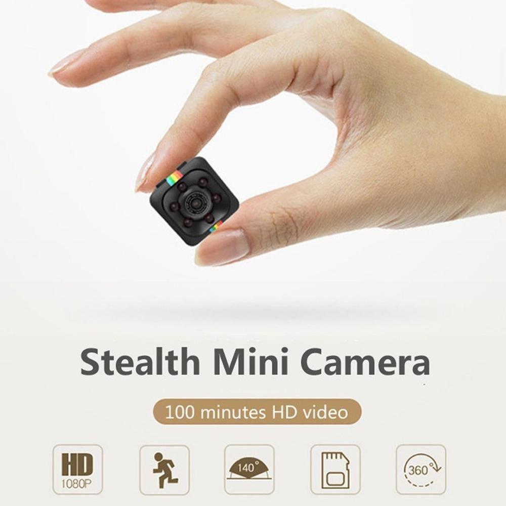 Teepao Mini Camara Espia, Mini CAM Surveillance Cámara Portable HD 1080P con Detección de Movimiento Visión Nocturna, Videograbador por Infrar Rojos ...