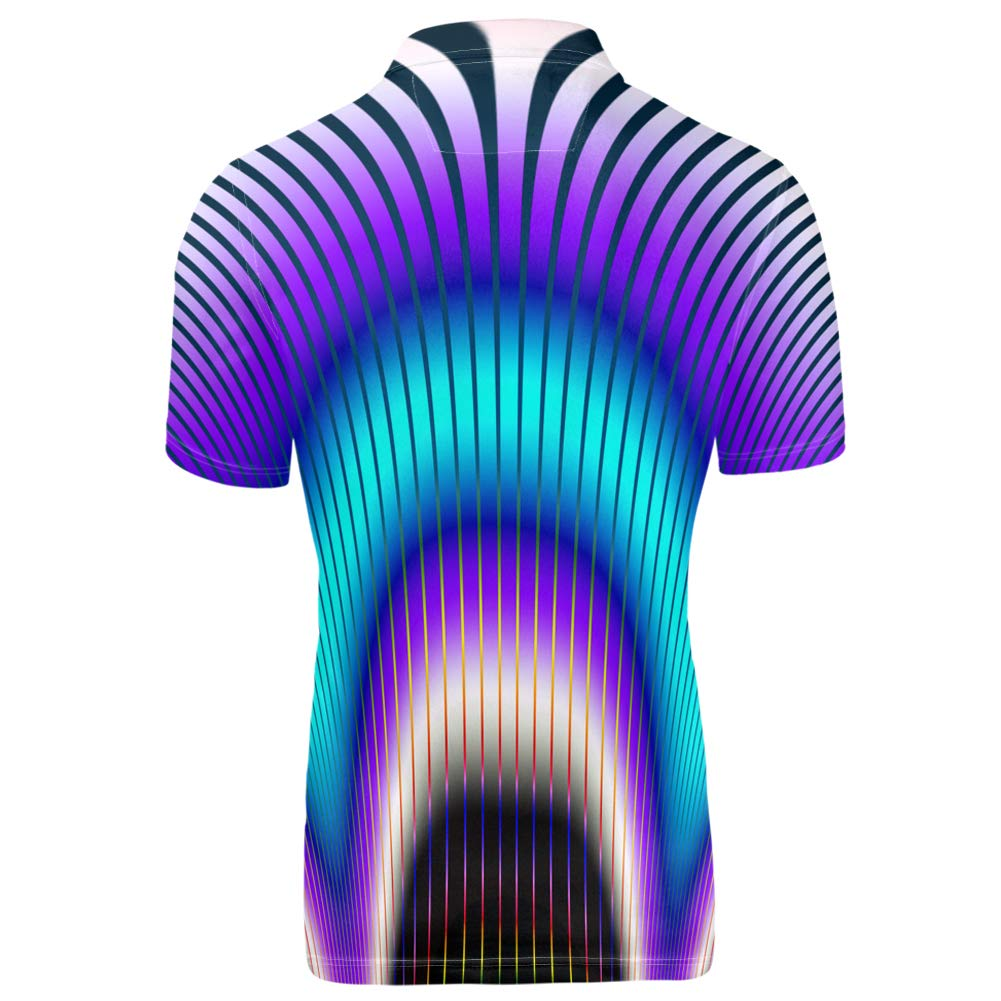 Pensura Summer Breathable Mens Polos Shirt Novelty Holiday Club Shirt XS-3XL