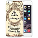 Unique iPhone 6 Plus/iPhone 6S Plus Skin Case ,Harry Potter Deathly Hallows Map White iPhone 6 Plus/iPhone 6S Plus Cover Fashionable And Durable Designed Phone Case