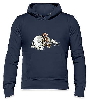 8a4745f97578 Petite Rouge en le Loup Mens Hoodie  Amazon.co.uk  Clothing
