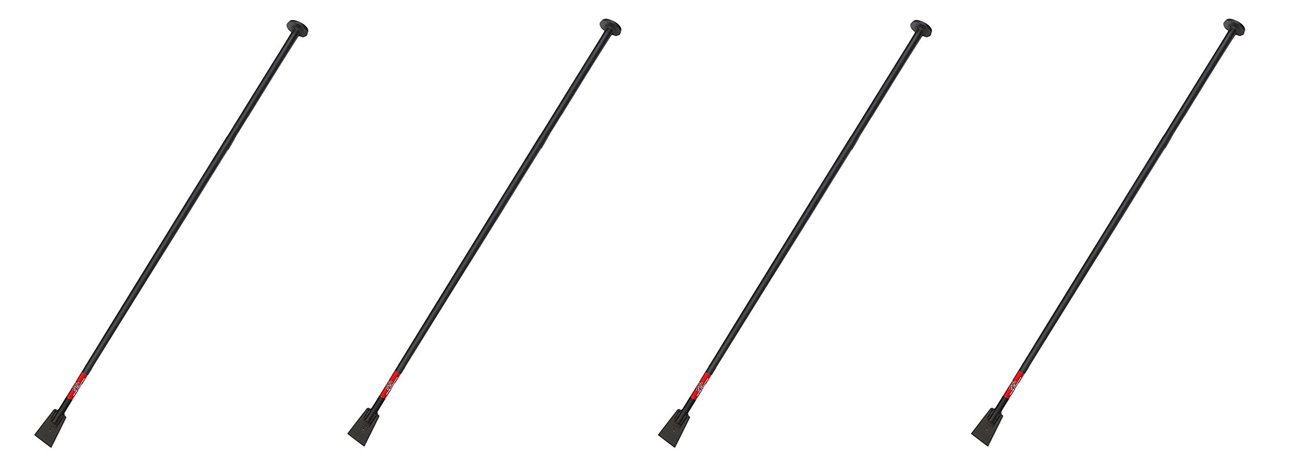 Bully Tools 92539 Steel Tamping and Digging Bar, 68-Inch (Pack of 4)