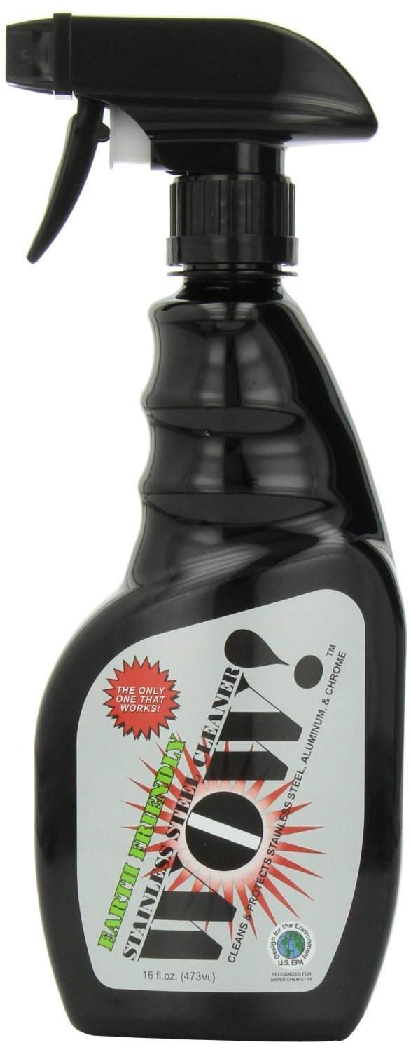 Wow! Stainless Steel Cleaner & Protectant, 16 fl oz Spray Bottle (Pack of 6) by WOW!