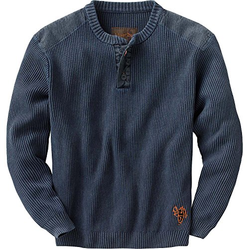 Best Buy! Legendary Whitetails Men's Northern Lights Henley Sweater