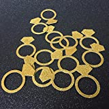 Ring Table Confetti Bridal Shower/Engagement -Wedding Decorations Bachelorette Party Events Supplies 100pcs/lot