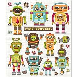 K&company Robots Sticker Medley