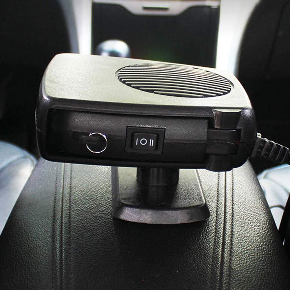 12/V 150/W Portatile Auto Camion Van riscaldatore 2/in1/Parabrezza Finestra Disappannatore sbrinatore Snow Red KOBWA Winter Auto riscaldante