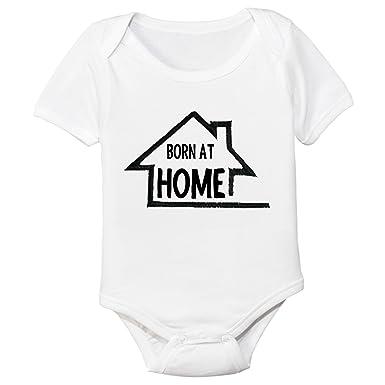 01f64cd48 Amazon.com: Born at Home Organic Cotton Baby Bodysuit: Clothing