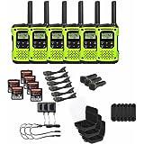 Motorola Talkabout T605 Two-Way Radios / Walkie Talkies - Rechargeable & Fully Waterproof 6 PACK