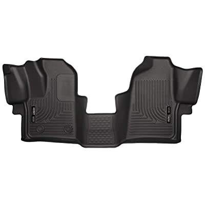 Husky Liners Fits 2015-19 Ford Transit-150, 2015-19 Ford Transit-250, 2015-19 Ford Transit-350 Weatherbeater Front Floor Mats: Automotive