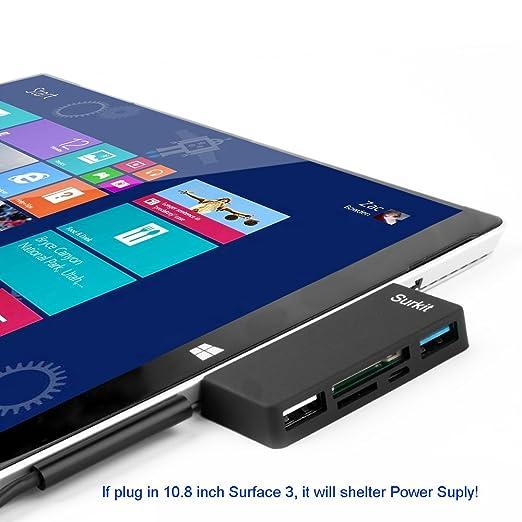 7 opinioni per Surface Pro Hub Adapter lettore di