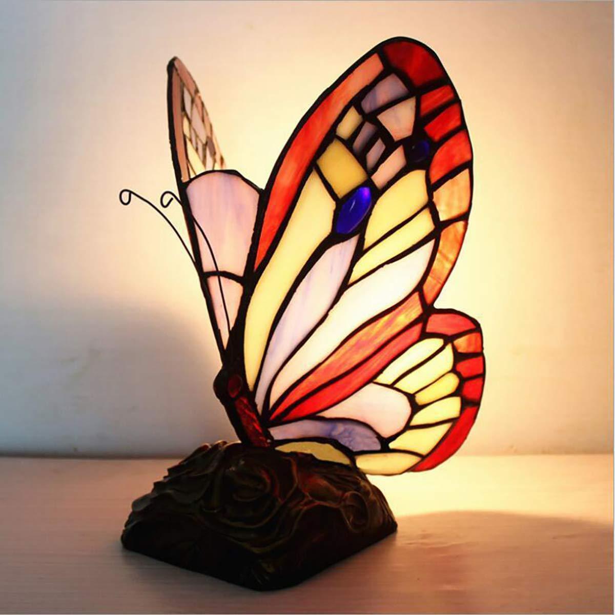 Amazon Com Gazelle Trading Tiffany Style Butterfly Table Lamp