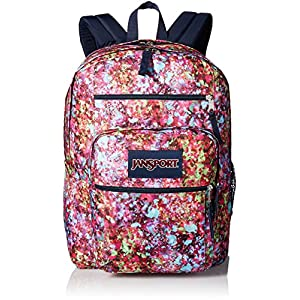 JanSport Unisex Big Student Multi Flower Backpack