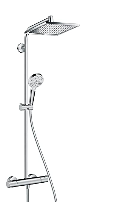 hansgrohe Crometta E 240 All in one Shower System with Thermostatic ...