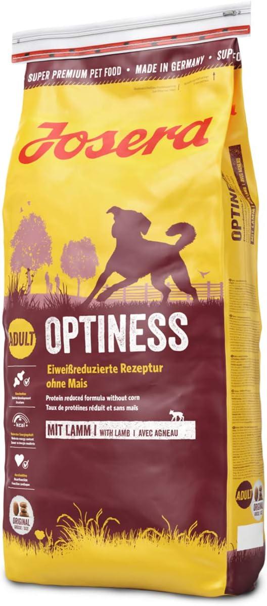 JOSERA Saco de comida para Perro - Optiness, 15 kg, Perro