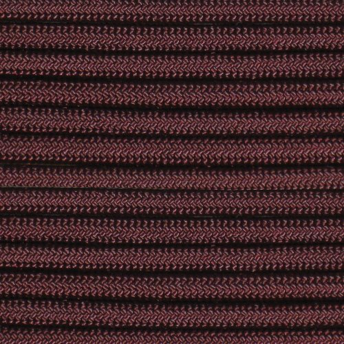 100' Maroon 550 Paracord / Parachute Cord, Type III, 7 Strand, 5/32 (4mm) Diameter, 550LB Breaking Strength, 550Cord Survival Cordage W/ Spool & Buckle Options