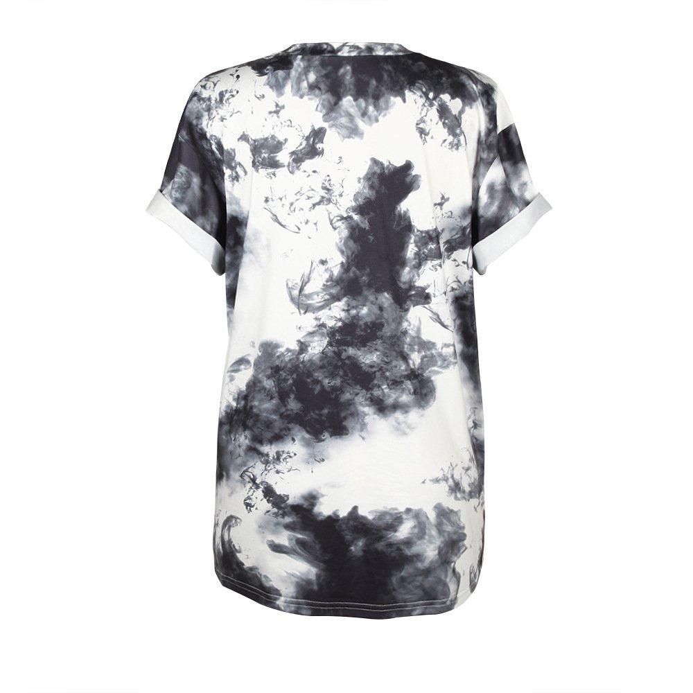 49c57bc25d006 MHOTCIG Fashion Couple Tops Women Summer Casual T Shirt Punk Sleeve Printed  T-Shirts