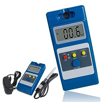 Ovovo Digital WT10A Gaussmeter Tesla Meter Electromagnetic Field Detector Magnetic Field Strength Detector: Amazon.com: Industrial & Scientific