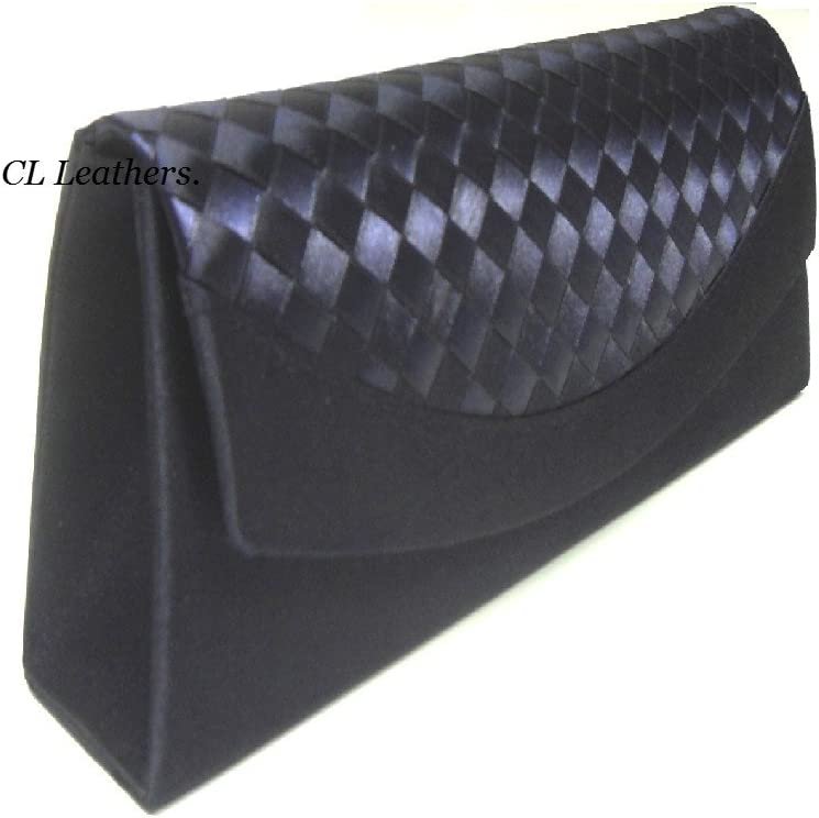 Dark Navy Wedding Nice Occasion Clutch Bags,Navy Satin Wedding bag,Navy Clutch Bag.