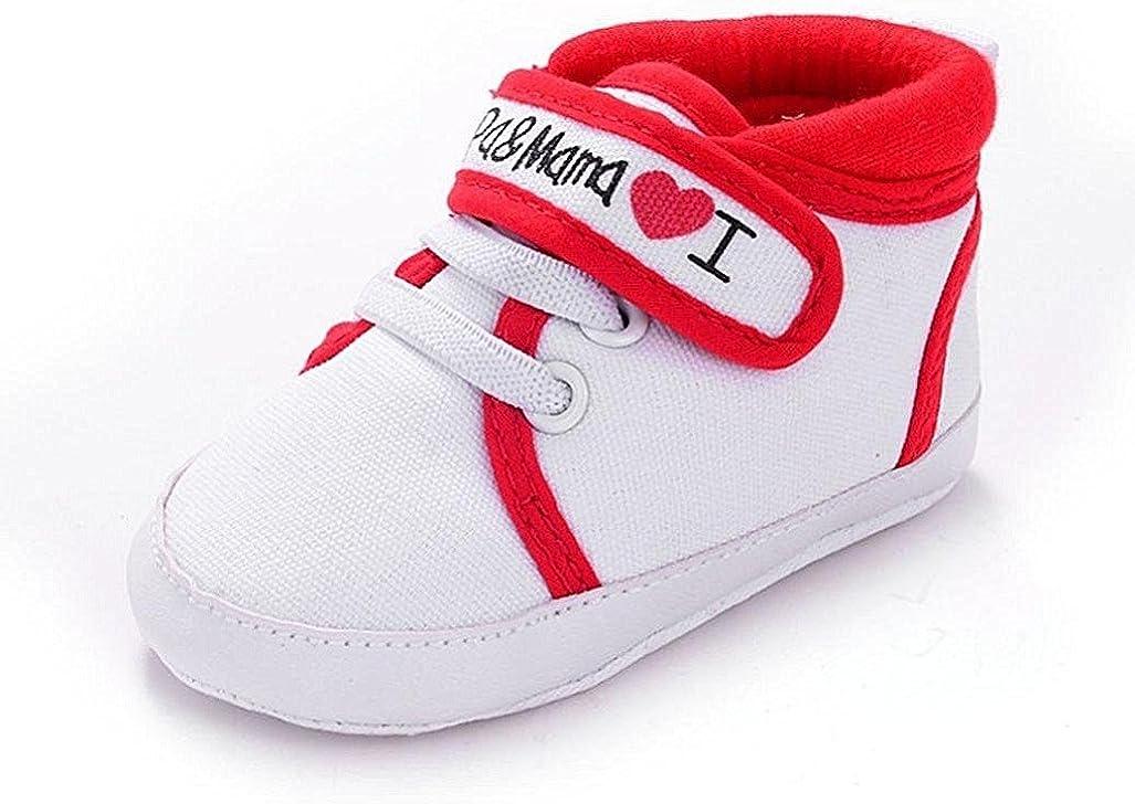 Calzado Auxma Infantil del beb/é del ni/ño de la Muchacha del Muchacho Sole Suave Zapatilla de Deporte para ni/ños peque/ños