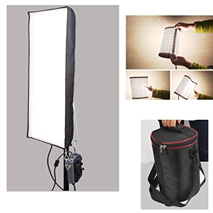 Menik CB-102A 102W 510PCS Led Studio Flexible Llighting CRI95 3200-5600K  Bi-color LED Video Light for Video Shooting Portrait Photography Fill-in