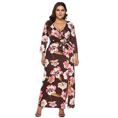 74a60a039e553 Amazon.com  Clearance Sale! Oliviavan Women Casual Plus Size Dress ...