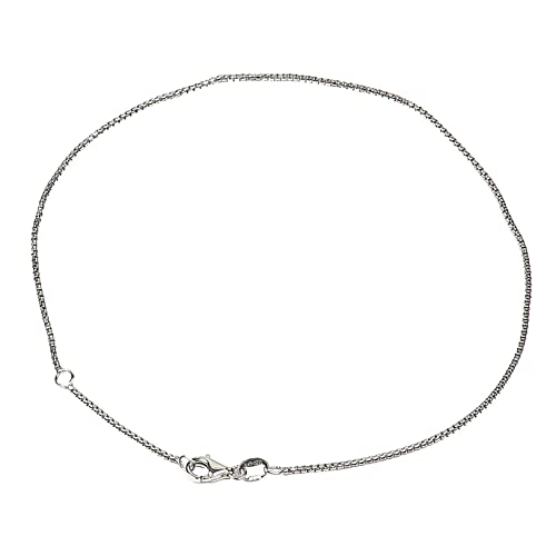.925 Sterling Silver 1.50mm Curb Link Anklet Bracelet Jewelry & Watches