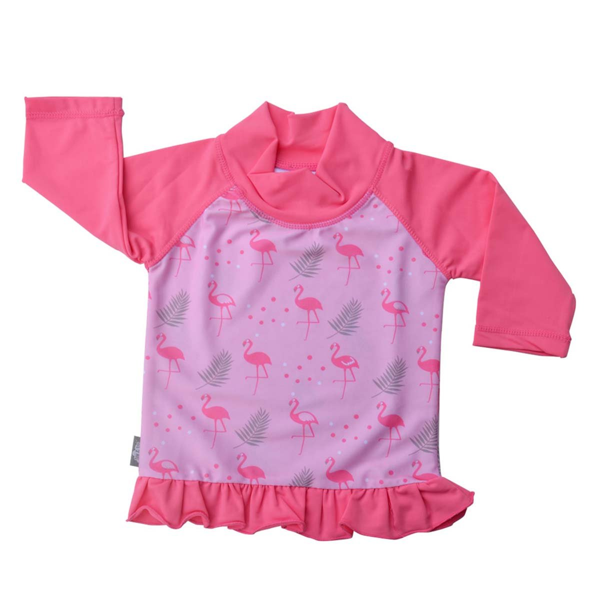 JAN & JUL UV Protective Swim Shirt Rash Guard 50+ UPFBaby Girl (UV Shirt S: 0-6m, Flamingo) Twinklebelle Design Inc 21-07S