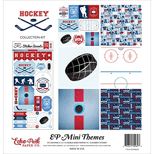 - Echo Park Paper Company SW8805 Hockey Collection Kit