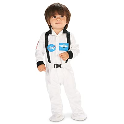 White Astronaut Infant Costume: Clothing