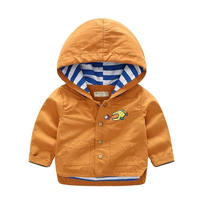 Yuandian bambini primavera autunno casual bottone giacca con