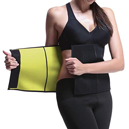 f5029f5132e59 LYTOPTOP Girdles for Women Sauna Sweat Waist Belt Neoprene Body Shaper  (Small)