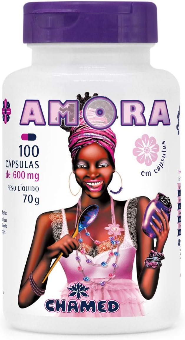 Amora Negra Fruta em cápsulas - 100 cápsulas de 600mg, Chamel