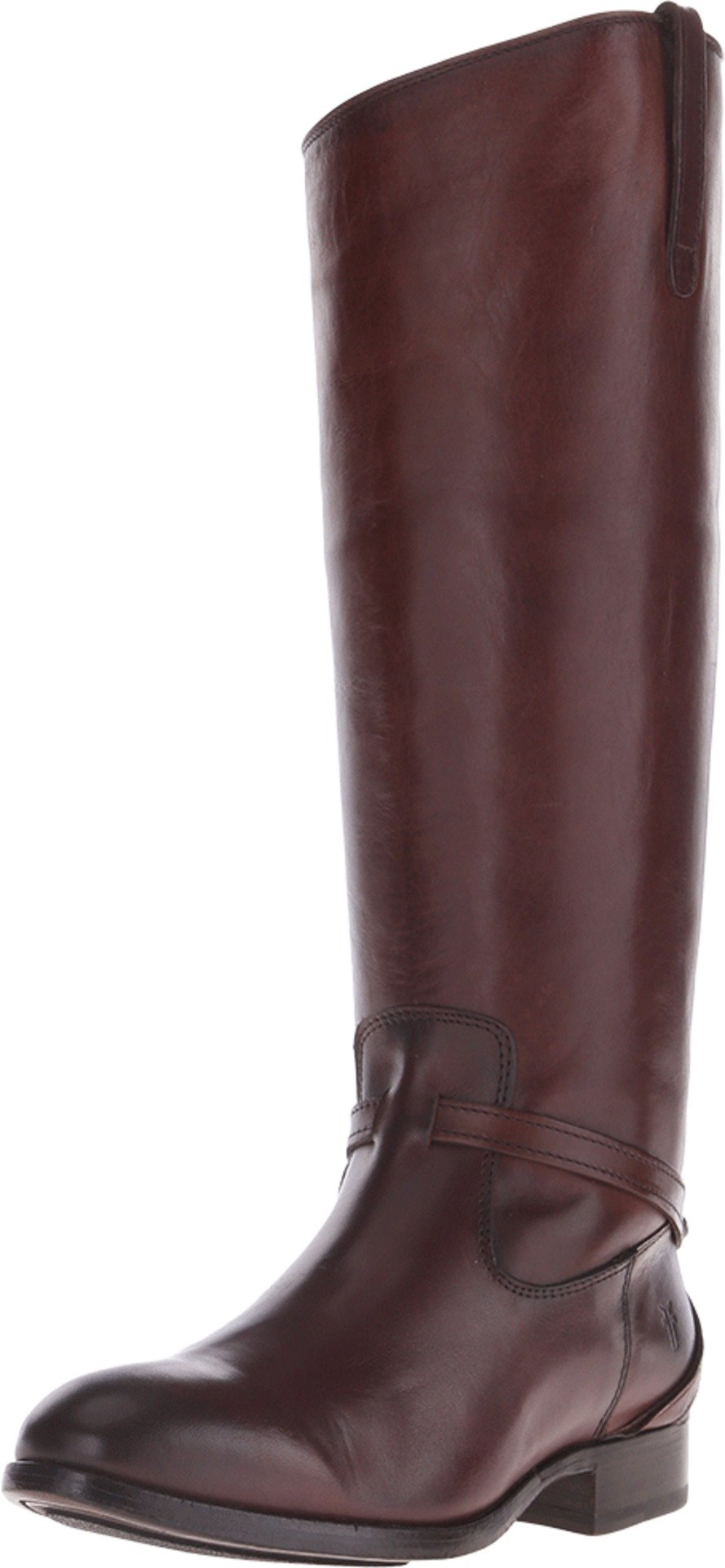 Frye Women's Lindsay Plate Redwood Smooth Vintage Leather Boot 7.5 B (M)