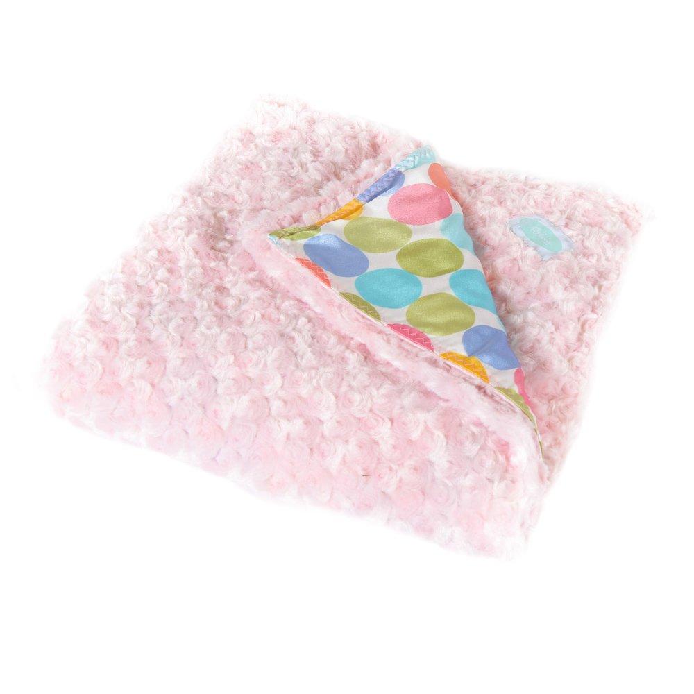 Allyzabba The MegaZabba Pastel-dot Blanket X-Large -Candy