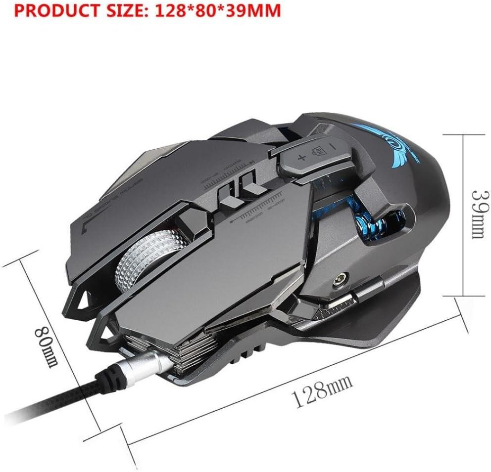 Grey Insaneness ZERODATE X300GY USB Wired 4000dpi 7 Buttons ...