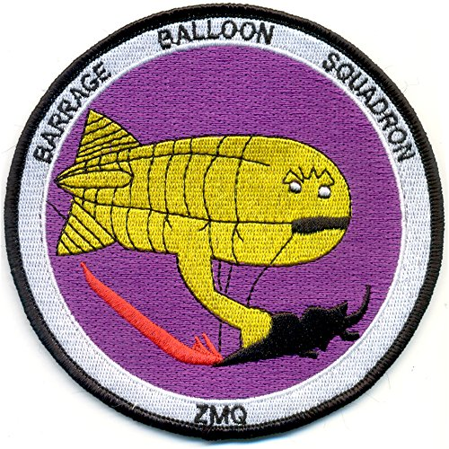 ZMQ-1 Aviation Barrage Balloon Squadron One Patch