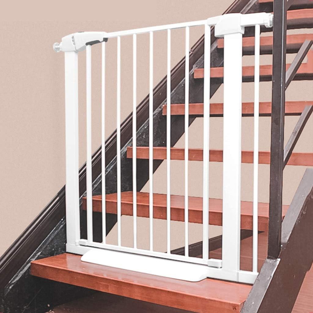 KDC Protector de Escalera para bebé, sin Perforaciones para Uso Familiar, para Evitar Que los niños se caigan, Protector de Aislamiento para Perros (Color: Blanco): Amazon.es: Bricolaje y herramientas