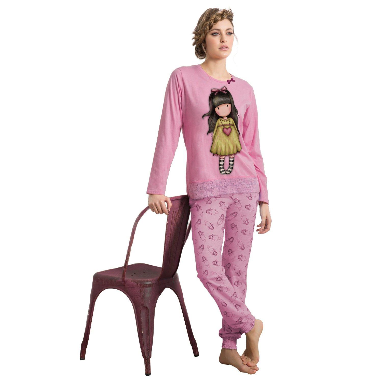 SANTORO Pijama Mujer Gorjuss Invierno - Heartfelt